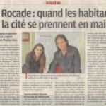 La Rocade, les habitants se prennent en main